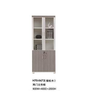 خشبيّة [أفّيس فورنيتثر] [فيلينغ كبينت] مع أبواب زجاجيّة ([ه70-0672])