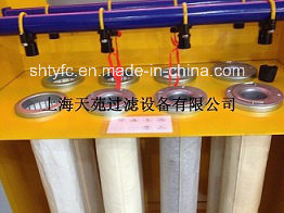 Горячая продажа изделий из стекловолокна фильтр тканью с силиконовым покрытием Teflon графита