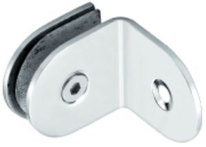 90 Degree Round Corner Wall to Glass Glass Clip (FS-513)