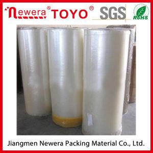 De transparante Acryl Zelfklevende JumboBand Op basis van water van de Verpakking BOPP van het Broodje