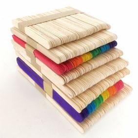 1000 bastoni di legno normali all'ingrosso del Popsicle del mestiere