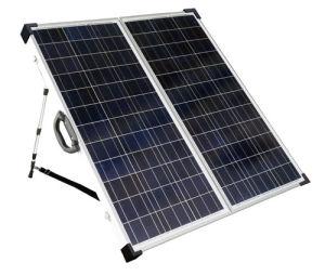 Mono de panel solar portátil plegable 140W módulo solar para autocaravana