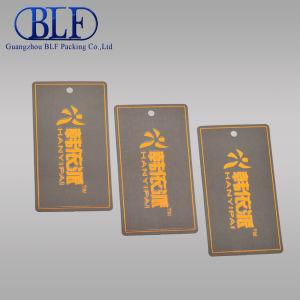 Напечатано повесить одежду бумаги тег (BLF-T005)