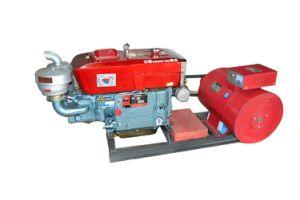 15kw OEMのブランド中国エンジンを搭載する携帯用水冷却の開いたタイプGF1のディーゼル発電機セット