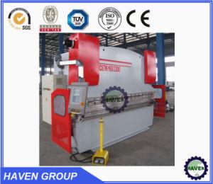 WC67Y hydraulische Presse-Bremse für Stahlplatte WIith CER Standard