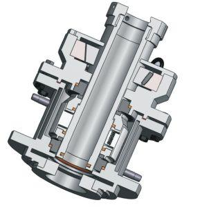 反作用のやかんの機械シール(285)