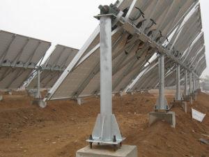 La energía solar fotovoltaica Tracking System (Sistema de Seguimiento de un solo eje horizontal)