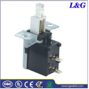 力2ピンはTV/DVD/VCDのためのオンオフの押しボタンスイッチを押す
