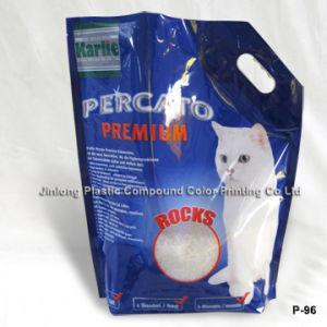 지퍼를 가진 고양이 배설용상자 포장