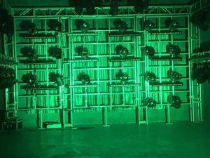 18PCS*12W esterni RGBW 4in1 impermeabilizzano l'indicatore luminoso di PARITÀ