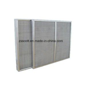 G3 de l'efficacité du filtre à air métal poreux élargi pour purificateur d'air