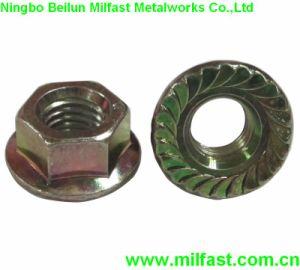 Écrou hexagonal à collet DIN 6923 Gr. 8 écrou à embase
