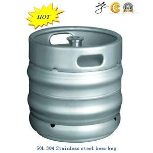 50L 304 barril de cerveza de acero inoxidable con la mejor calidad