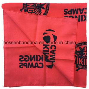 OEMの農産物のカスタムペーズリープリント青い綿22  *22  Headwrapのバンダナの製造業者