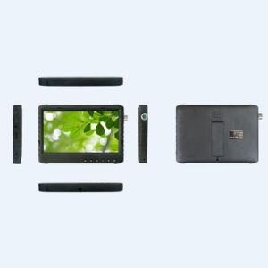 На заводе для продажи 7000Мач Li-Battery на базе 7 дюймовый ЖК-Ахд зеркало заднего вида автомобиля безопасности DVR монитор