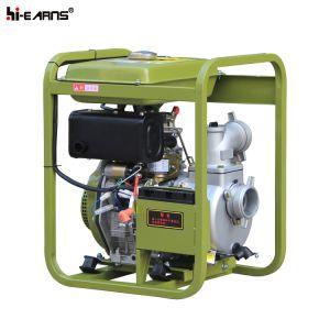 Couleur jaune à démarrage électrique de gazole de la pompe à eau (DP30E)