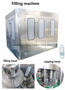 Completare la linea di produzione di riempimento bevente automatica dell'imballaggio delle acque in bottiglia