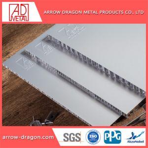 Painel de alumínio alveolado Non-Combustible leve para a parede do metrô