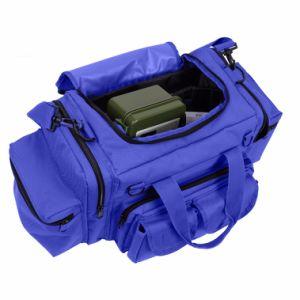구조 낙하산 위생병 어깨끈을%s 가진 파란 EMT 응급 의료 반응 부대