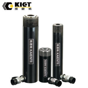 Kiet cylindre hydraulique simple effet piston creux de l'aluminium