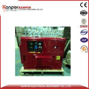 De Diesel van de Output van de Enige Fase van Kanpor 11kw 60Hz Gekoelde Lucht van Genset