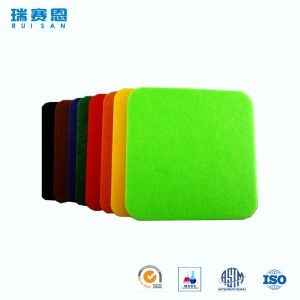 Panneaux 100% de revêtement acoustiques de mur de fibre de polyester de poids léger