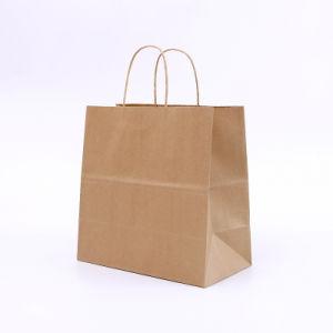 Buon sacchetto riciclabile della carta kraft del Brown del sacchetto della carta kraft di Miaoxin 100% di qualità