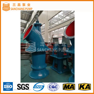 Pompa verticale di drenaggio della turbina