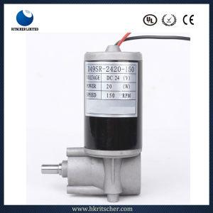 10-100 W 80rpm del motor de engranaje helicoidal de alta eficiencia con Impermeable IP44.