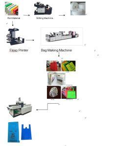Sacchetto non tessuto principale della casella che fa macchina (ZXL-E700)