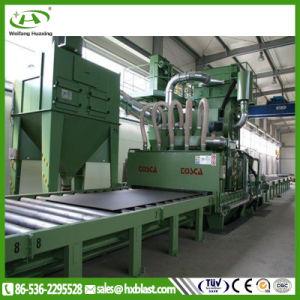 Huaxing ha personalizzato la macchina pretrattata dell'artificiere di pallinatura del piatto d'acciaio