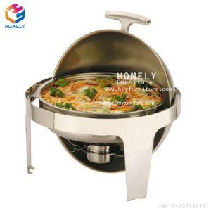 Cheap frottement plat Buffet Set/usure par frottement plat en acier inoxydable rondes