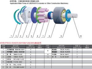 굴착기의 주요 펌프를 위한 Kyb Psv2-55/63t 예비 품목