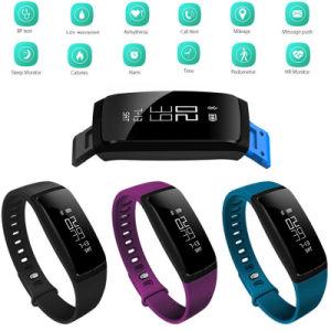V07 Armband van het Horloge van Bluetooth van het Tarief van het Hart van de Bloeddruk de Slimme