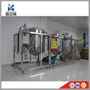 Refinação de óleo de girassol condição nova fábrica, em pequena escala, Refinaria de Petróleo bruto com marcação CE