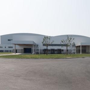 La estructura de acero prefabricados para nave industrial