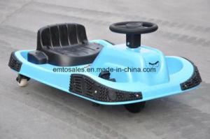360 детей с электроприводом вращается корзина Crzay Street Racing перейти тележки