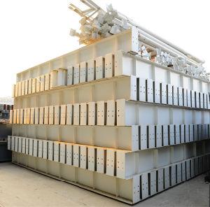 Costruzione galvanizzata tuffata calda della struttura d'acciaio