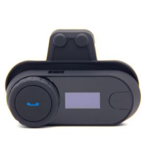 Moto de la mitad de intercomunicación casco con pantalla