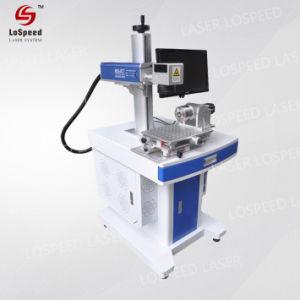 De digitale Laser die van de Vezel Machine voor het Plastic Pakket van het Voedsel merken