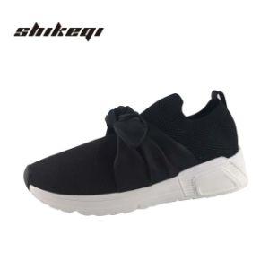 Quanzhou Jinjiang personalizada de fábrica de calzado deportivo de Fujian, el Diseñador de malla de Zapatillas casual Wedge Sneakers Damas zapatillas mujer