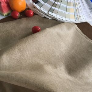 Tongxiangの織物からのポリエステルスエードファブリック製造者