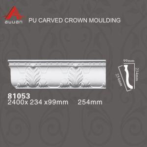 コーニスの鋳造物を切り分ける81053ヨーロッパ式の建築装飾的なPU