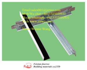 Galvanisierte Stahlrasterfelder der verschobenen Decken-T für Decke deckt Jinerwo mit Ziegeln