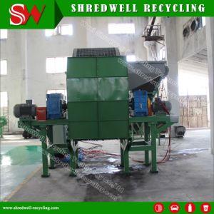 Asta cilindrica gemellare Tire/E-Waste/Wood/Metal/Plastic che tagliuzza strumentazione per riciclare