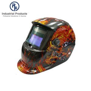 RF OEM様式の頭骨およびFalmesの絵画が付いている太陽供給の溶接のヘルメット