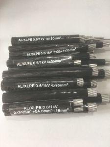 cavo ambientale 0.6kv di ABC dell'isolamento di memoria PE/XLPE/PVC di Al 4X35mm2