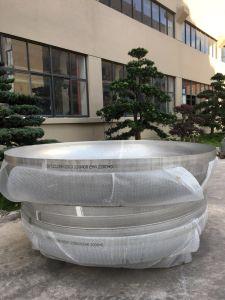 ISO-Cer zugelassener Edelstahl-elliptischer Kopf für Druckbehälter-Nahrungsmittelgetränkepharmazeutisches Gerät