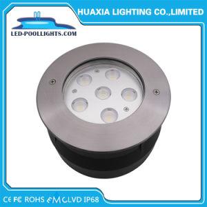 6W de luz de la piscina empotrada IP67 y IP68 de Metro de LED de iluminación (HX-HUG165-6W)