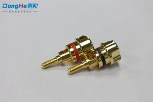 단말기 의무적인 포스트 (D1)를 연결하는 RoHS 황금 도금된 상한 부속품